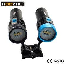 Макс 2600 лм три цвета света Дайвинг видео лампа водонепроницаемый 120 м Высокое качество подводный светодиодный фонарик V30