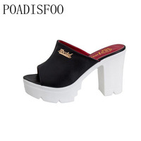 2017 Summer Women S Platform Sandals Fish Mouth Open Toe Casual Wedge Sandals Shoes For Women