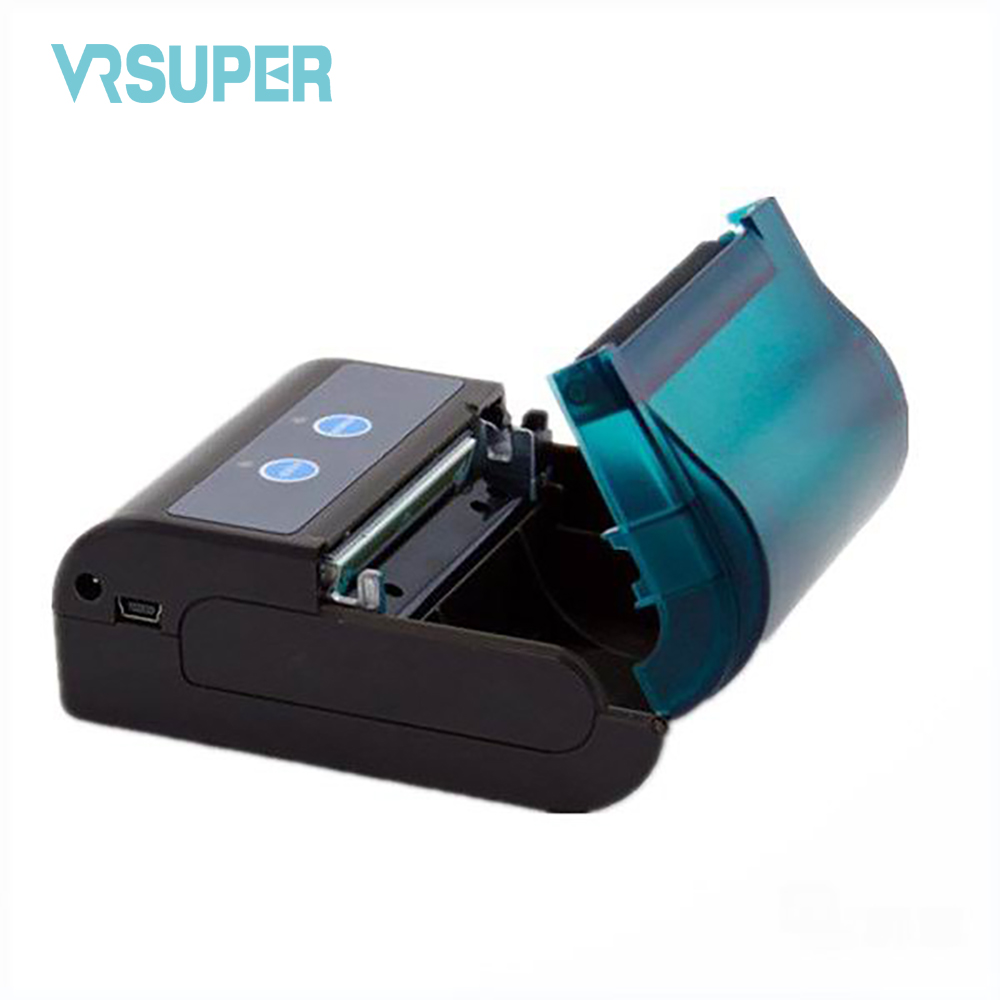 Free shipping  58mm Mini Bluetooth Thermal Printer  Portable 58mm USB Port POS Receipt Thermal Printer goojprt mtp 3 portable 80mm bluetooth thermal printer exquisite lightweight design eu plug support android pos multi language