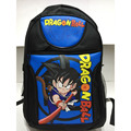 Anime Dragon Ball Son Goku Nylon Laptop Backpack/Double-Shoulder/Travel School Bag for Teenagers