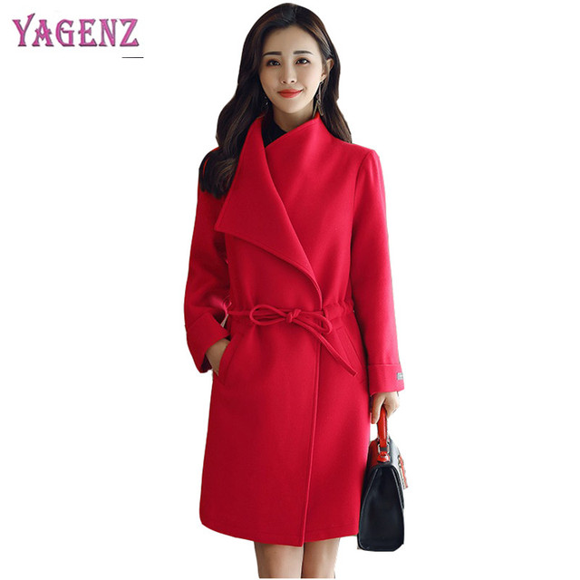 c76ffba1abfba Winter Korean Version Women Long Woolen Jacket 2018 New High Quality Warm Wool  Coat Stylish Elegant Plus size Overcoat 4XL B93