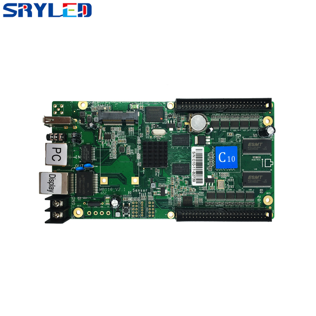 Asychronous kolorowy kontroler Huidu serii C HD C10/C10C/C30 Asyn kontroler LED