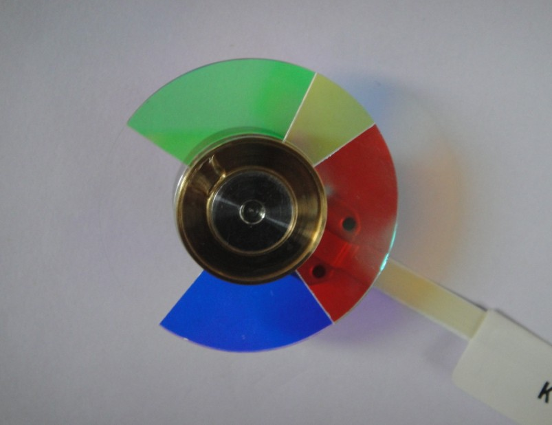 5 Segments 40 Millimetre DLP Projector Replacement Color Wheel Fit For BENQ MP610 brand new color wheel module fit for benq ms502 projector