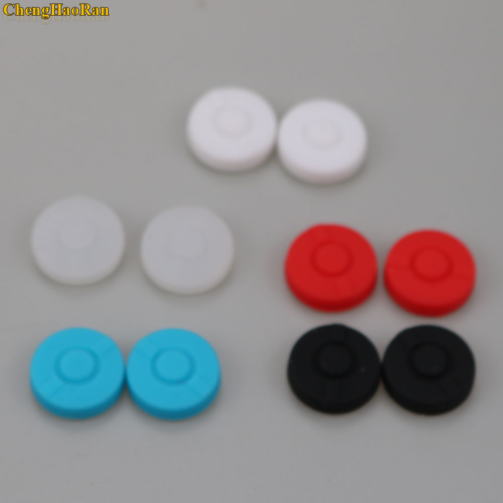 Image 2 - 2pcs  Stick Grips Cap Controller Joystick Cover Case For Nintend Switch NS Pokemon Poke ball Plus Pokeball Game Controller-in Gamepads from Consumer Electronics