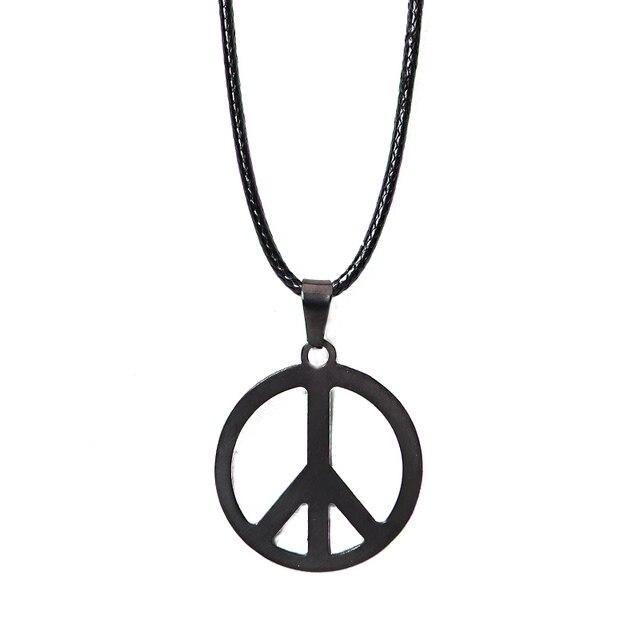 Fashion Jewelry Stainless Steel Hamsa Fatima Hand Peace Sign Charm
