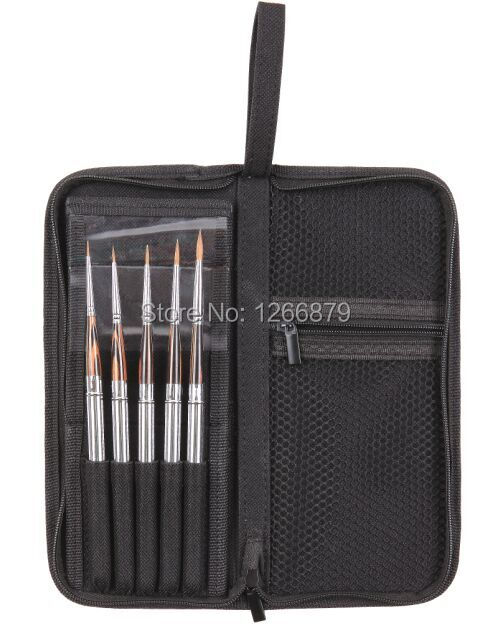 High Quality Paint Brushes Acrylic Watercolor Brushes 851 5 Pcs Set Kolinsky Hair Wooden Handle