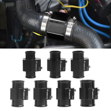 Newest 1Pc Water Temp Temperature Joint Pipe Sensor Gauge Radiator Hose Adapter Size 28/30/32/34/36/38/40mm car water temp temperature sensor gauge joint pipe radiator adapter 28mm 30mm 32mm 34mm 36mm 38mm 40mm