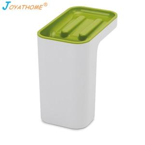 Image 5 - Joyathome cepillo de esponja de cocina estante de almacenamiento fregadero estante de drenaje colgador de trapo cesta de secado organizador de cocina