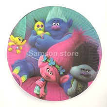 7inch 18cm patrolling design food-grade Paper printed Plates for Kids Birthday Party Decoration Supplies plates*10pcs
