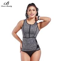 Lover Beauty Plus Size Neoprene Corset Sauna Waist Trainer Corset Vest For Weight Loss Body Shaper Slimming Vest For Women C