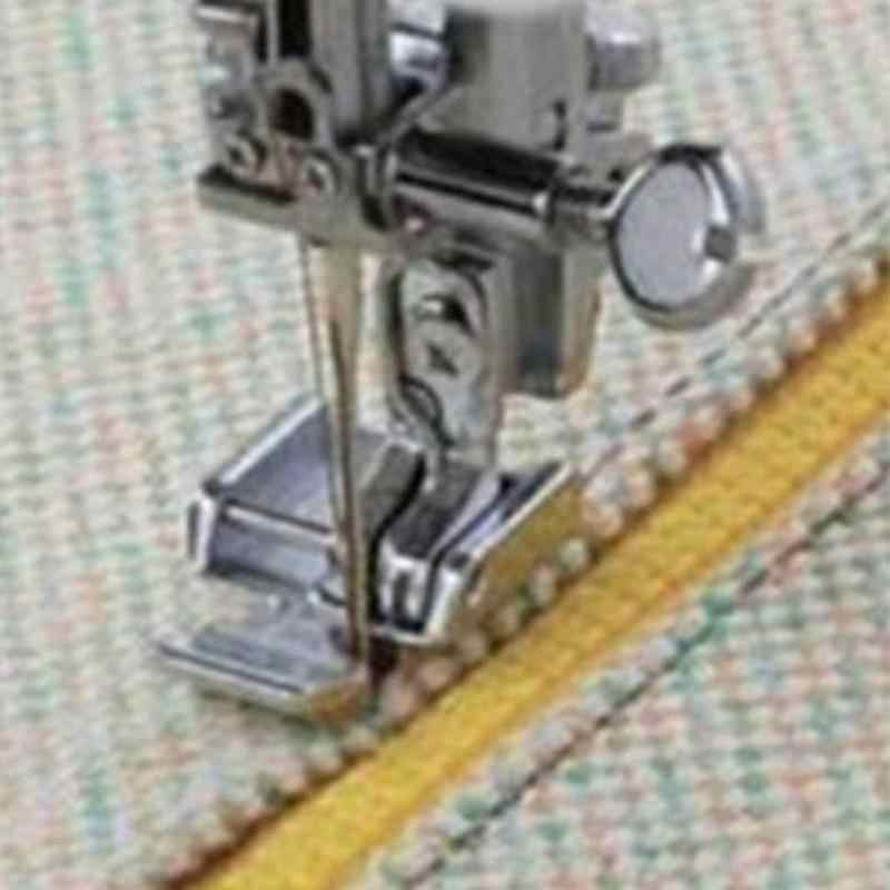 Single Sides Metal Zipper Presser Foot Feet For Household Snap-on Sewing Machine Brother Singer Janome Sewing Accessory