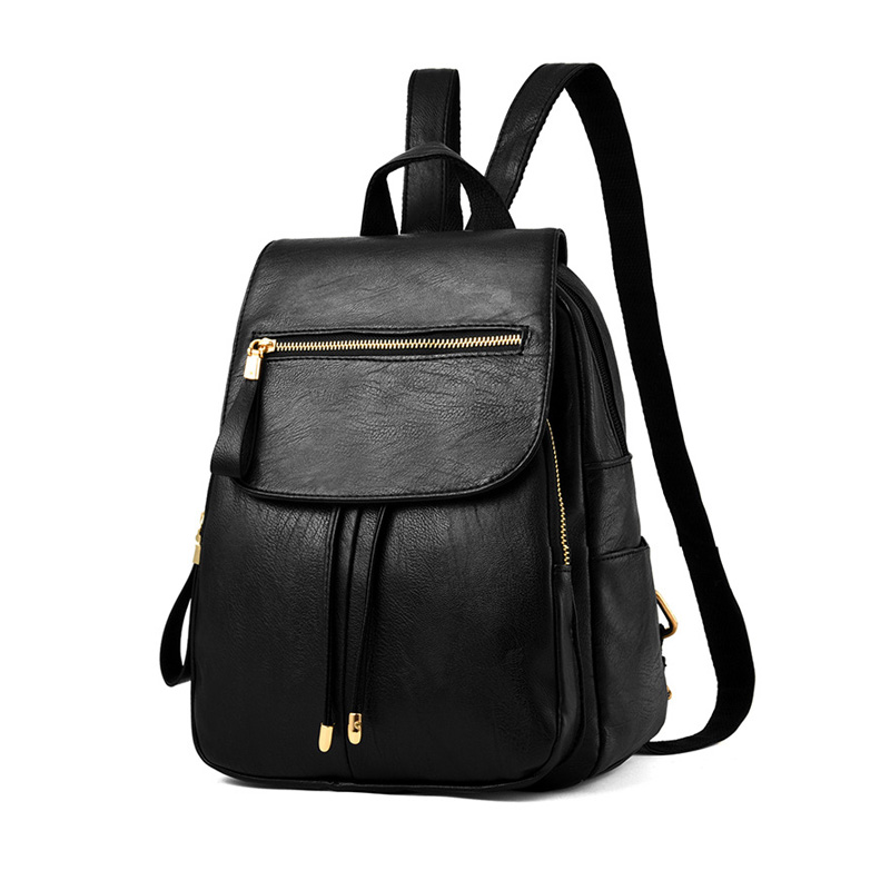 2017 New Women Backpack PU Leather Students Casual Bag Fashion Girls Shoulder Bag Female Backpack Lady Korean Style Bag K1 710 39 99usd 9 colours 2017 wholesale korean fashion pu zipper primary secondary school students backpack five pieces 2017121401