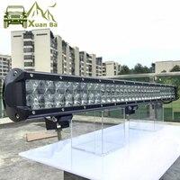 4D объектив 33 дюйма 360 Вт внедорожный светодиодный рабочий свет бар для тележки Uza ATV 4WD внедорожник Грузовик 4x4 внедорожный Lada Niva Combo дальнего ...
