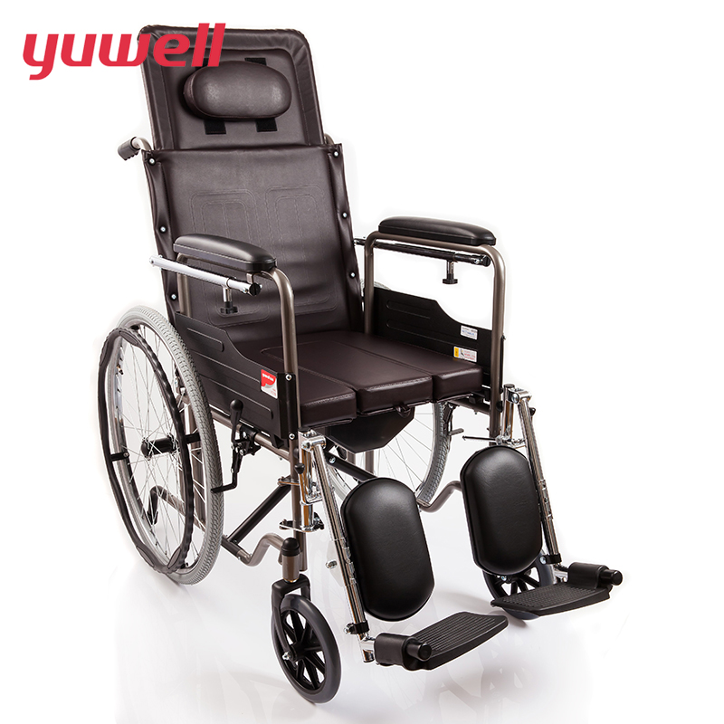 yuwell High Quality Portable Folding Back Wheelchair Health Care Disabled People Manual Wheelchair Home Medical Equipment H059B ruby puckett parker foodservice manual for health care institutions