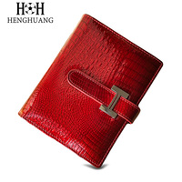 HH Women Genuine Leather Cards Holders Card Holder Lady Luxury Alligator ID Card Case Card Holders