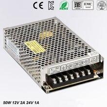Double alimentation pour bande lumineuse LED, Ultra mince, SMPS 90 V-D-50 V AC entrée 12V 24 V 1a, 240 C