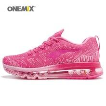 Купить с кэшбэком ONEMIX Music Rhythm Shoes Women Running Shoes For Women Breathable Mesh Women's Athletic Shoes Sneakers Women Size 35-40