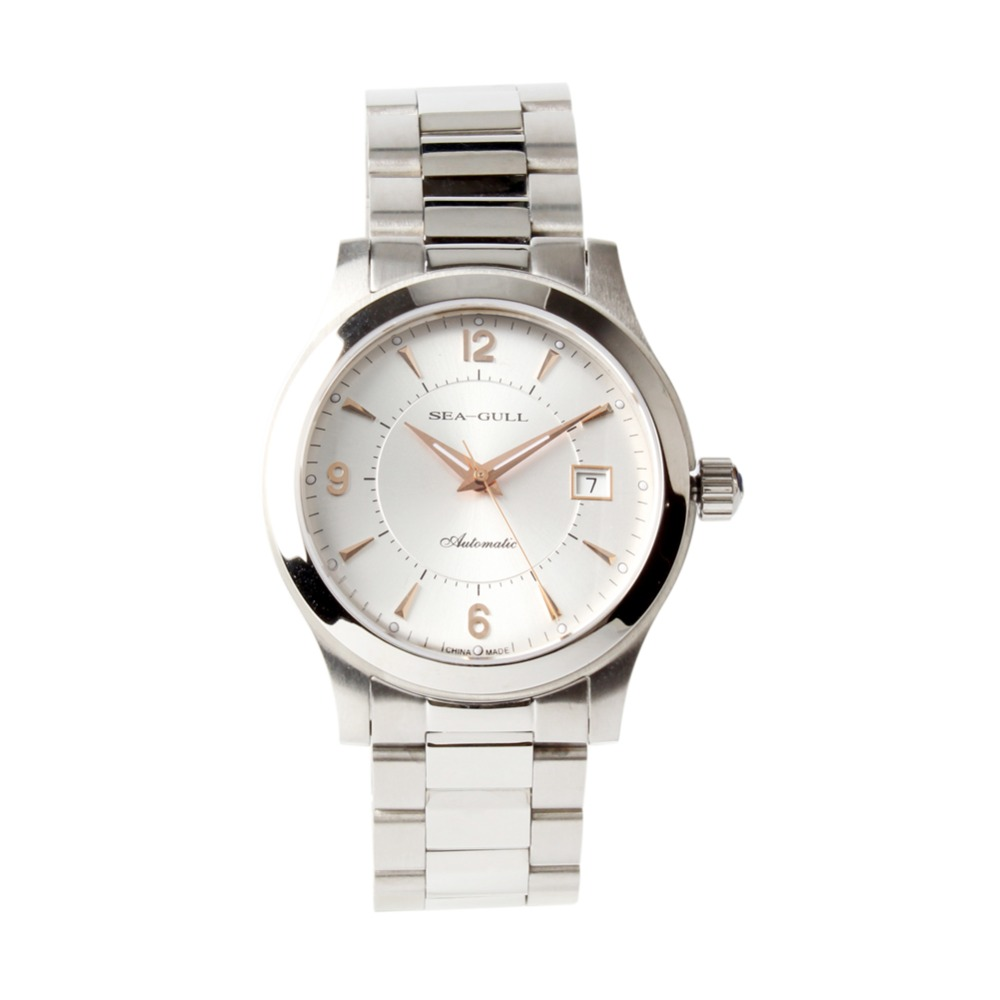 カモメローズゴールドハンズ自動巻き展 ST2130 ムーブメント自動メンズビジネス腕時計 816.351  グループ上の 腕時計 からの 機械式時計 の中 1