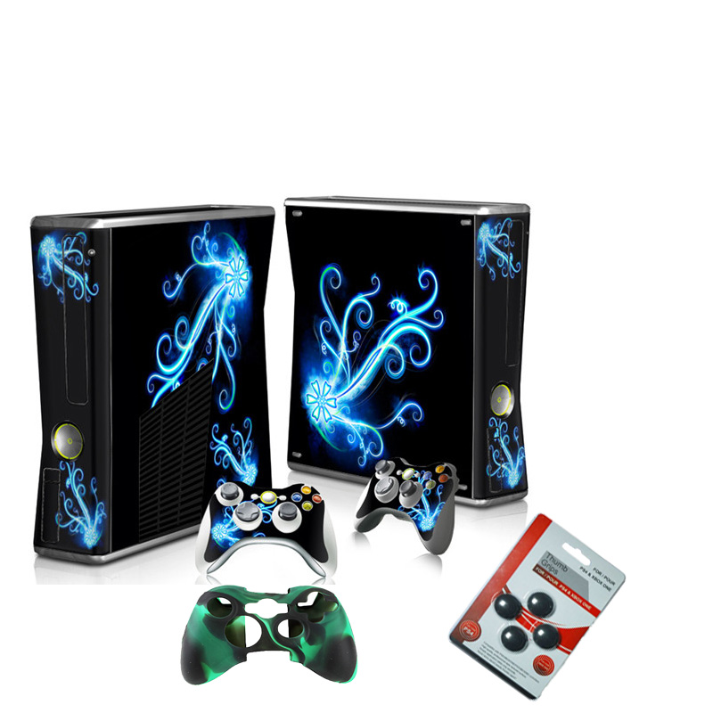 Show Many Games Host Skin Controller Stickers Kit Waterproof Cartoon Tags for Windows XBox 360 SLIM Game Play T-X360-035