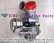 Free Ship BV43 145 28200-4A480 53039880127 53039880145 Turbo Turbocharger For HYUNDAI Grand Starex CRDI H-1 CRDI D4CB 16V 2.5L