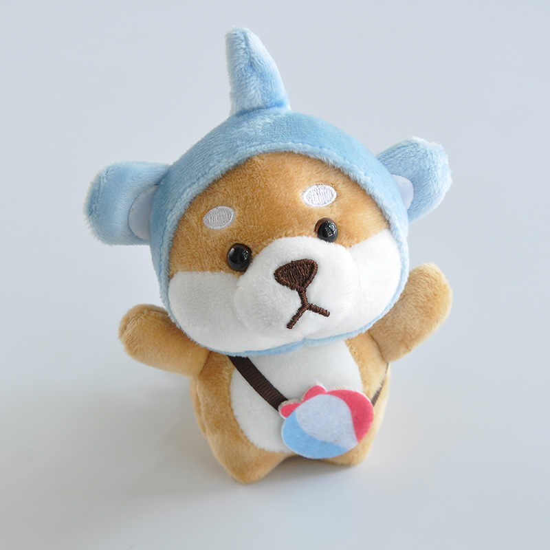 かわいい犬柴犬 Cospaly の豚かわいいぬいぐるみソフト人形ぬいぐるみ車のキーチェーンバッグペンダント人形のおもちゃ子供のギフト