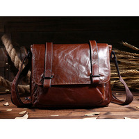 Genuine Leather Vintage Men Bag Briefcase Shoulder Bags Brand New Business Men S Messenger Bags Crossbody
