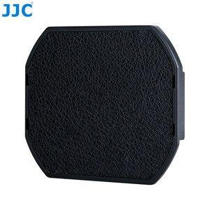 Image 4 - Jjc tampa da lente da câmera, para fujifilm LH XF23 e jjc lente LH JXF23 capuz 62mm preto protetor, LC JXF23