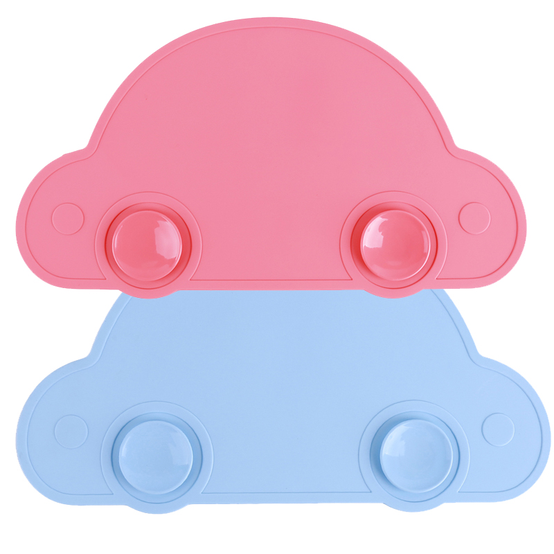 Cute Silicone Placemat Fda Bar Mat Baby Kids Cloud Shaped Plate Mat Table Mat Bpa Free Waterproof Set Home Kitchen Pads Easy To Repair Home & Garden