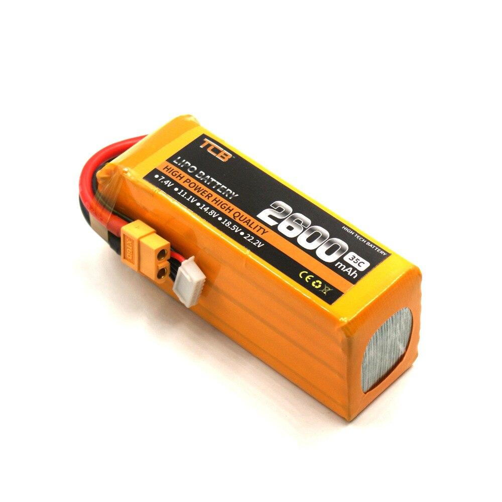 2600mAh battery batteria 35C