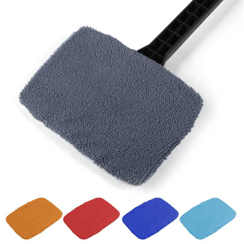 Portable Mobil Kaca Depan Pengikis Sikat Pembersih 6 Warna Dropshipping Auto Window Cleaner Wiper Mobil Mencuci Alat
