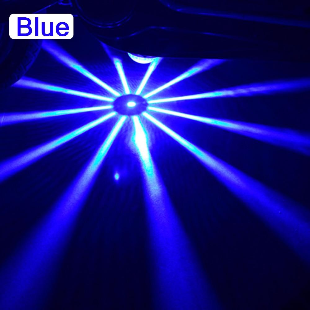 Мотоцикл декоративный свет мотоциклы шасси свет днища свет лодка скутер Универсальный Предупреждение - Испускаемый цвет: blue