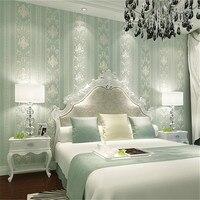 European Vertical Stripes Desktop Mural Wallpaper Roll Papel De Parede 3D Wall Paper For Living Room