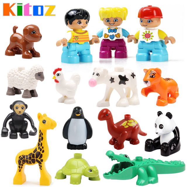 Miniature Toys For Boys : Aliexpress buy kitoz farm zoo ocean animal miniature