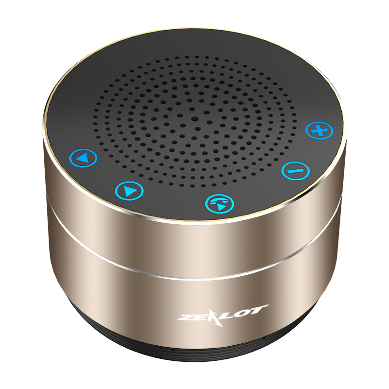 ZEALOT S19 Portable Wireless Bluetooth Speaker Column Super Bass Stereo Subwoofer Touch Control USB TF Card MP3 Play