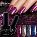 10ml 3D lucky colour Glitter Platinum Gel Polish UV Gel Nail Polish Soak Off Matte Nail Polish Gelpolish Manicure Color Gel