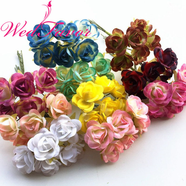 60pcs 25cm small imitation silk rose bouquet artificial flowers for diy garland scrapbooking bridal hair wedding decoration in artificial dried 60pcs 25cm small imitation silk rose bouquet artificial flowers for diy garland scrapbooking bridal hair mighty