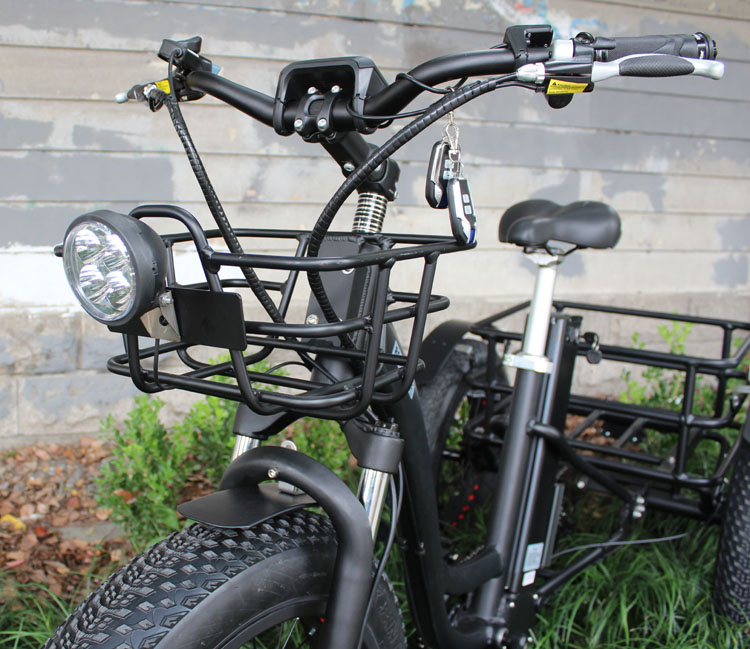 HTB1FMPWXinrK1RjSsziq6xptpXaU - 48V 1000W electric three-wheeled snowmobile Electric three-wheeled bicycle fat ebike 20-24inch wheel electric