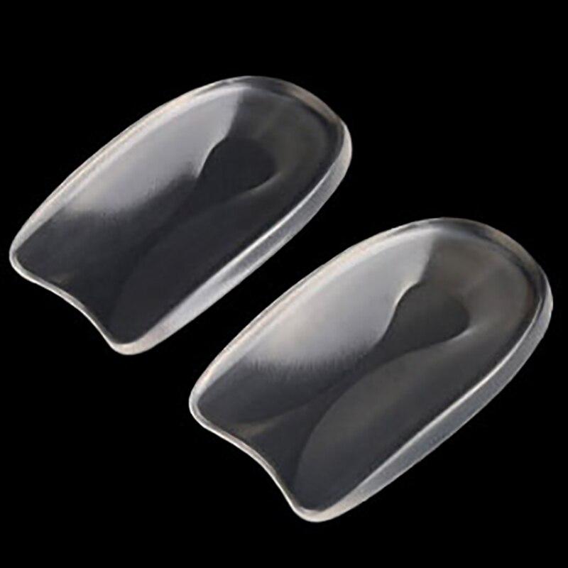 Silicone Gel U-Shape Heel Cushions For Shoes Plantar Fasciitis Heel Protector Heel Spur Cushion Pad Shoe Inserts