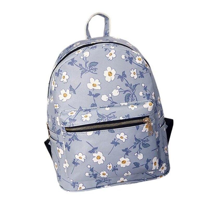 Fashion Backpack Women Canvas Personalized Signal Battery Wifi Printing Backpack school bags Women Bag mochila feminina