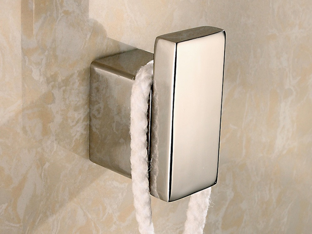 304 Stainless Steel High Quanlity Contemporary Deluxe Wall Mount Towel Robe Hook Coat Hat Hanger