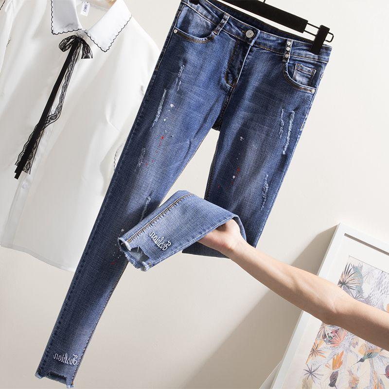 Mujeres Relajadas De Chica De Moda Bermudas Mezclilla Elegante Pantalones Moda Completi Cortos De Mezclilla Pantalones Vaqueros El/ásticos para Mujer Pantalones De Verano Pantalones hasta La Rodilla