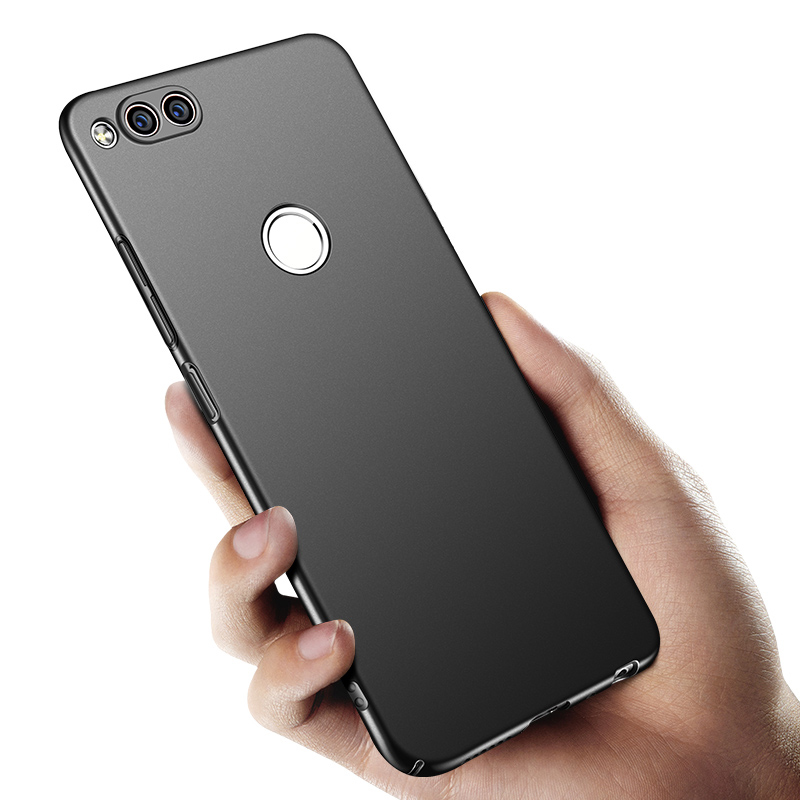 sports shoes 4f3d1 e2080 US $6.23 10% OFF|Huawei honor 7x case cover honor7x case back protective  ultra thin black protect coque capas MOFi huwei honor 7x case 5.5-in Fitted  ...