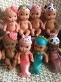 2 pcs/um monte de vinil boneca reborn baby toys brinquedos casa de jogo de presente de aniversário menina bonito do natal newbabies 022705