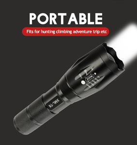 Image 5 - Hot sale LED Flashlight XML T6 Tactical Flashlight Q5 Mini Torch Waterproof pocket Flashlight UV Flashlight Scorpion