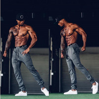 Men Gyms Long Pants Cotton Men S Gasp Workout Fitness Pants Casual Sports Running Sweatpants Jogger