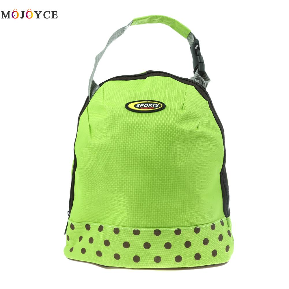 Portable Lunch Bags Canvas Handbag Thermal Cooler Insulated Picnic Bag Pouch Food Warmer Kit Hand Lunch Pouch