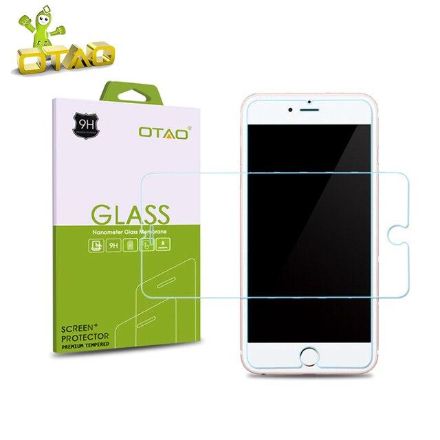 OTAO Temperato Vetro Dello schermo Pellicola Protettiva Per Apple iphone 8 7 6 6 S Più 5 S SE 5C 4 S Temperato di Protezione Con Vendita Al Dettaglio pacchetto