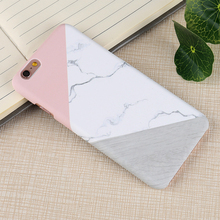 Thin Luxury Hard PC Wooden Marble Patterned Cases For iPhone 5, 5s,  6, 6S, 7, 7 Plus, XPlus