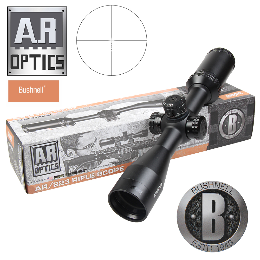 AR/233 BDC Reticle Rifle Scope BUSHNELL 3-9x40 Rimfire Optics Riflescope (Multi-X Reticle) Side Parallax Air Wapens