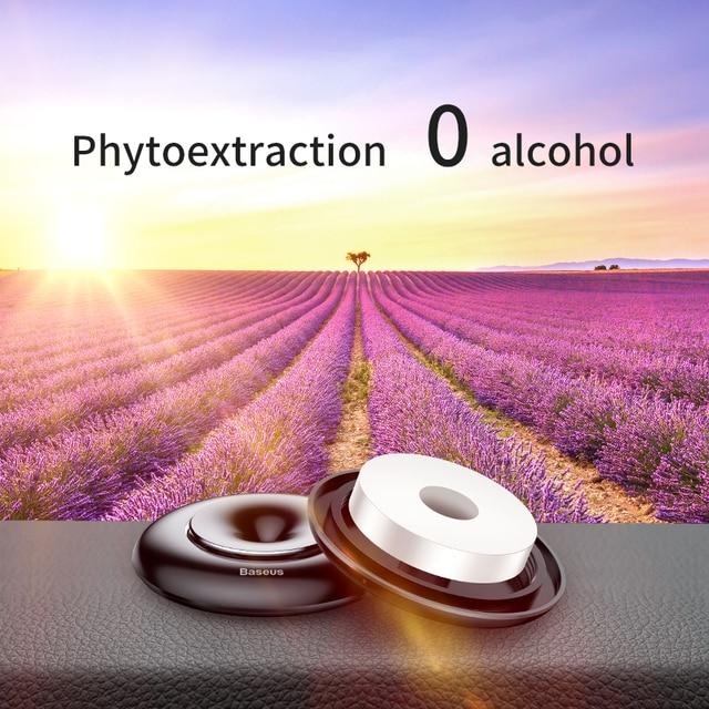 Baseus Car Air Freshener Pure Alloy Lemon Car Perfume Air Freshener Auto Diffuser Sweet Smell Aromatherapy 2